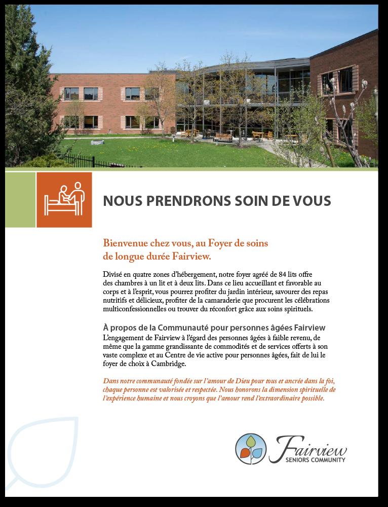 Fairview LTC Brochure FR
