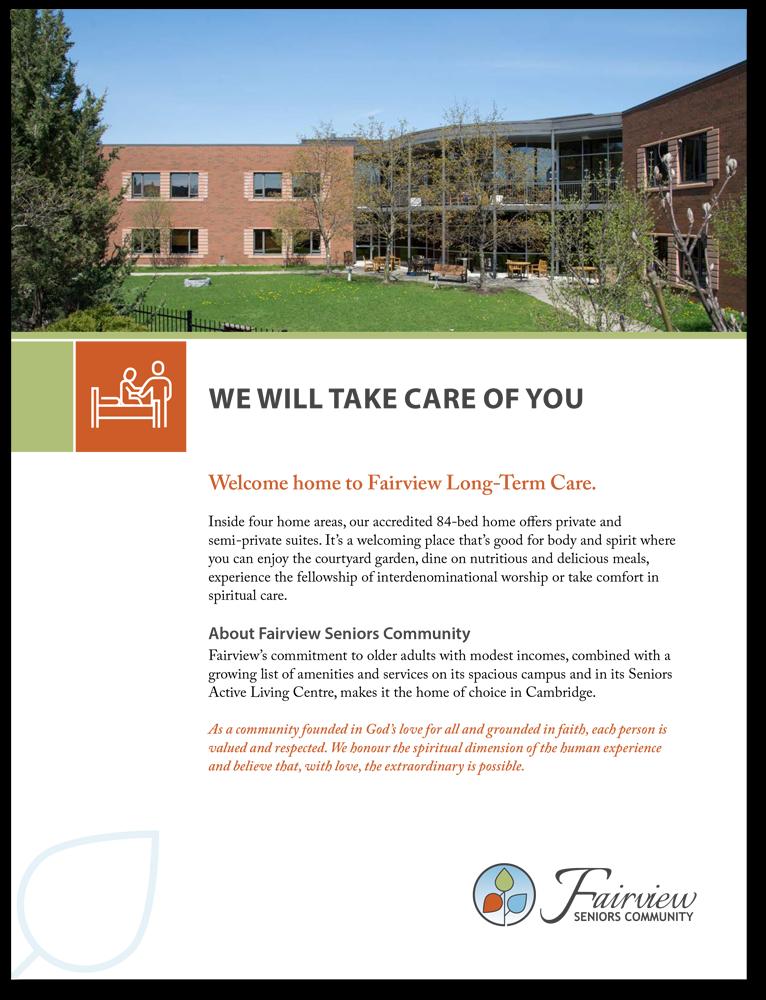 Fairview LTC Brochure
